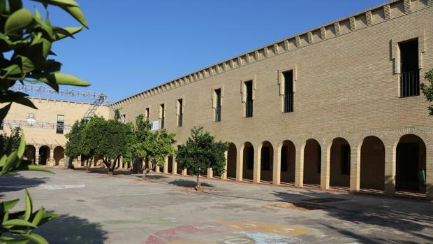 Instalaciones del complejo de los Santos, donde se ubicará el centro