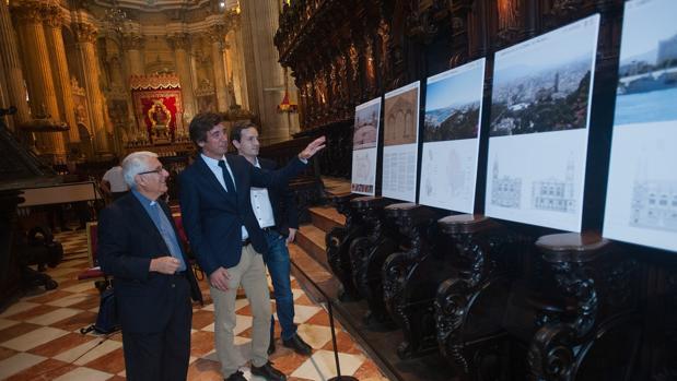 Los arquitectos y deán de la Catedral presentan el proyecto