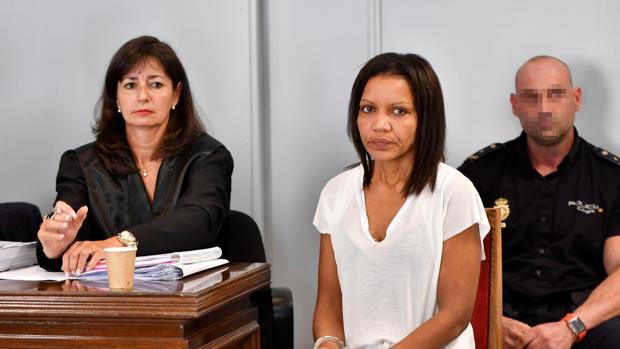 Ana Julia Quezada, durante el juicio por la muerte del niño Gabriel