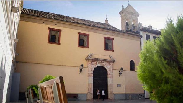 Fachada de la ermita de la Rosa, en Montilla