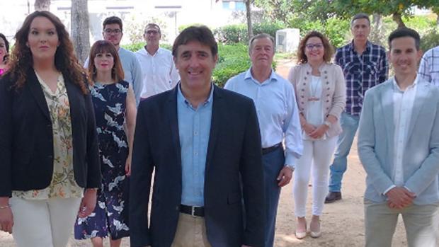 Miembros de Ciudadanos de La Palma del Condado