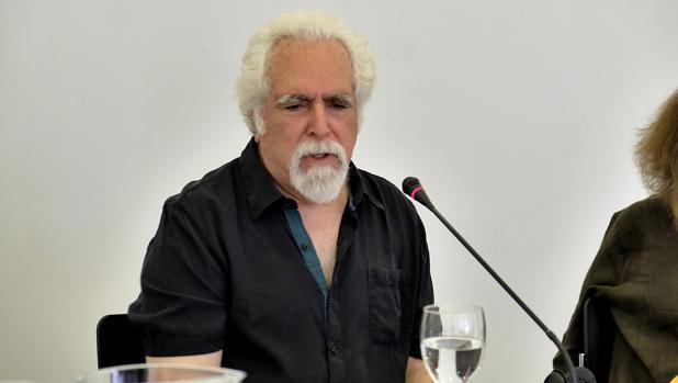 El artista estadounidense Peter Campus