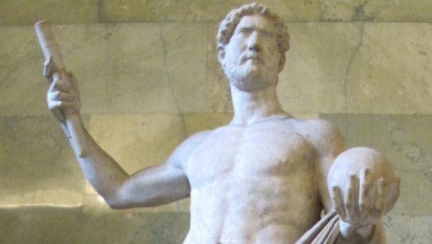 Estatua del emperador Adriano