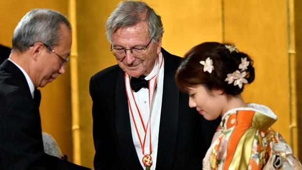 Rafael Moneo, durante la ceremonia de entrega del premio