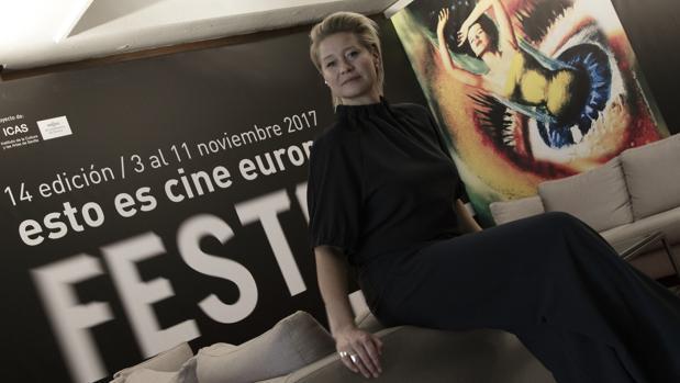 La actriz danesa Trine Dyrholm