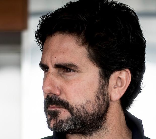 El escritor Hernán Zin