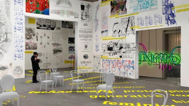 Detalle de «becoming», la propuesta española para la Bienal de Venecia