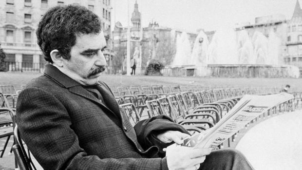 García Márquez en Barcelona en 1970