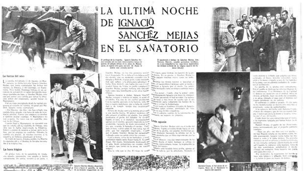 Reproducción del articulo de Juan Ferragut que inspiró el poema de Lorca