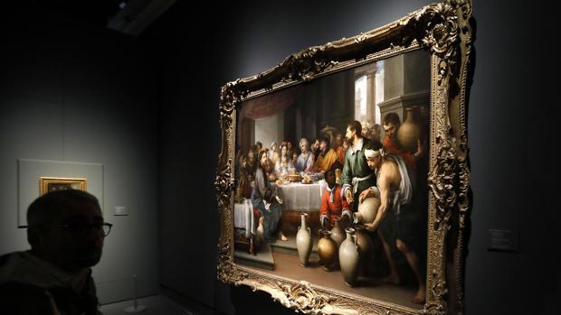 «Las bodas de Caná», cuadro de Murillo que puede disfrutarse en el Bellas Artes