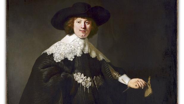 «Retrato de Marten Soolmans», una de las obras de Rembrandt analizadas