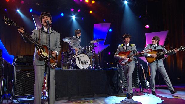 The Fab Four, banda que rinde tributo a los Beatles