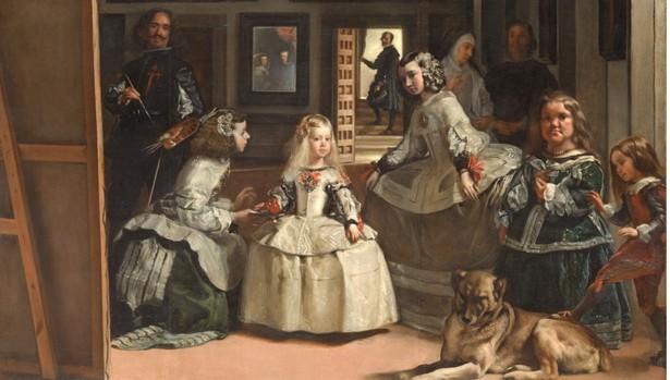 La infanta Margarita nunca ha parado de observar a los visitantes del Prado