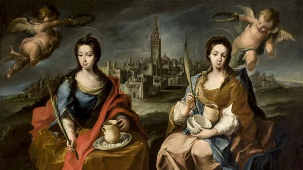 Las santas patronas Justa y Rufina