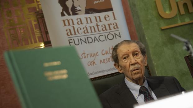 Manuel Alcántara en una imagen de 2018