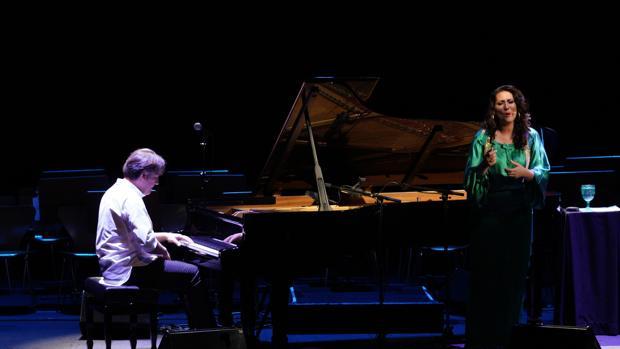 Dorantes y Marina Heredia, en el Teatro de la Maestranza
