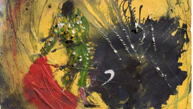 Parte del cartel que ha pintado Miquen Barceló para Granada -