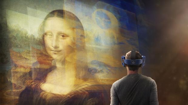 La Mona Lisa (y virtual)