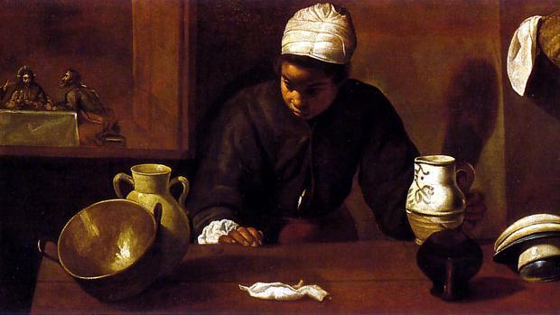 «La mulata o la cena de Emaús», de Velázquez