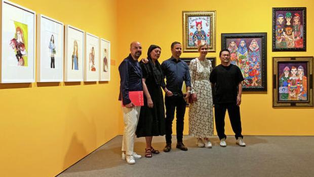 Jesús Cano, Aurore de la Morineire, Jason Brooks, Amelie Hegardt e Hiroshi Tanabe