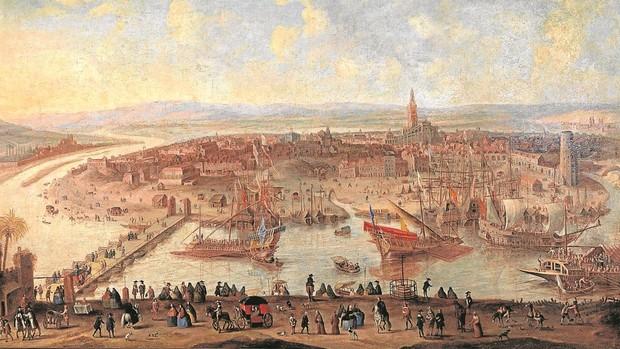 'Vista de Sevilla', de la Fundación Focus, permite asomarse a cómo era la ciudad en el siglo XVII