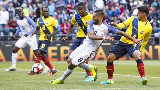 Dempsey, ante Ecuador