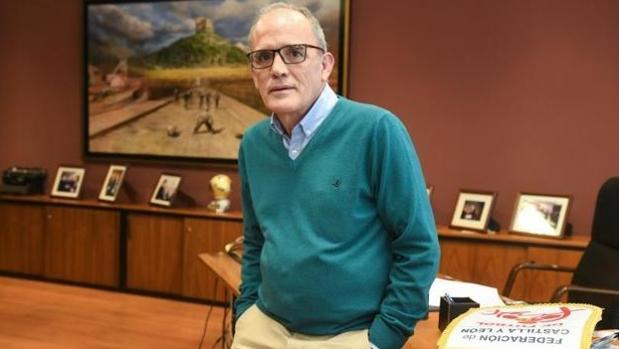 Marcelino Maté, presidente de la Federación de Castilla y León