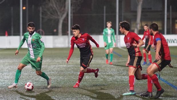 Final de la Copa Federación, en la que el Mirandés se ha proclamado campeón ante el Cornellá
