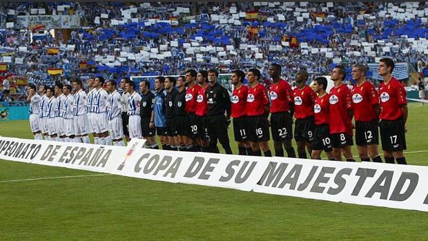 Final de la Copa del Rey de 2003 entre el Recreativo y el Mallorca