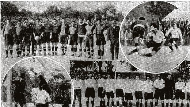 Imágenes de la final de la Copa del Rey que se jugó en Sevilla en 1925