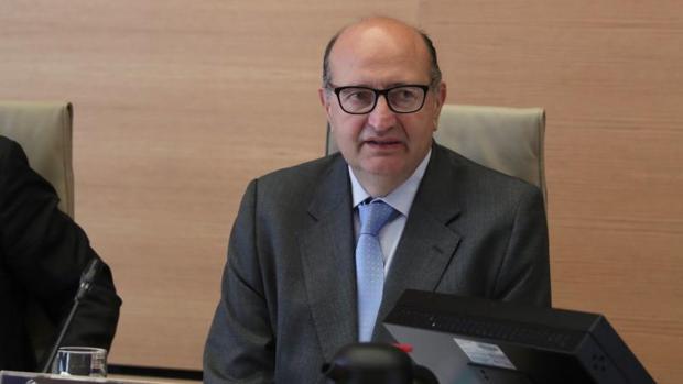 El presidente del Tribunal de Cuentas, Ramón Álvarez de Miranda García,