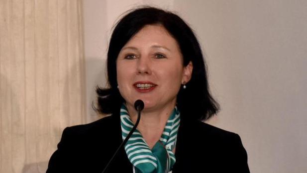 La Comisaria europea de Justicia, Consumidores e Igualdad de Género, Vera Jourova