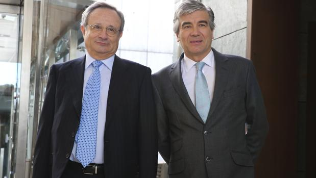 Rafael Villaseca y Francisco Reynés, la semana pasada