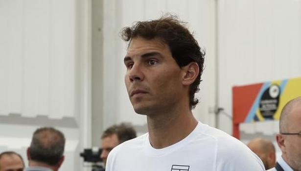 El tenista Rafa Nadal