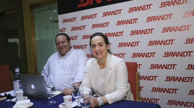 Manuel González y Lucía Cepeda, socios y directivos de la firma