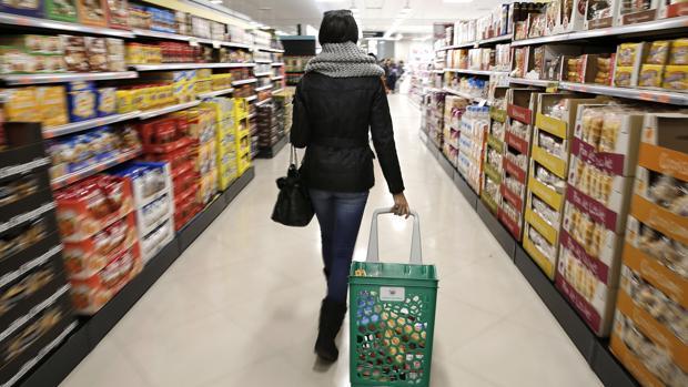 una imagen de un supermercado en Valencia