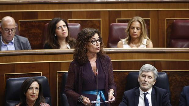 La ministra de Hacienda, María Jesús Montero,