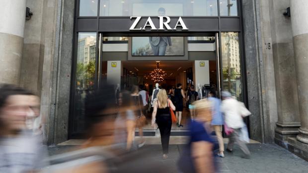 Una de las tiendas de Zara en Barcelona