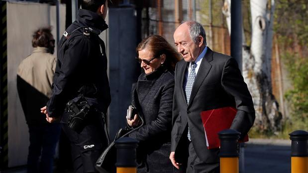 El exgobernador del Banco de España, Miguel Ángel Ordónez, ha declarado hoy como testigo en el juicio de Bankia