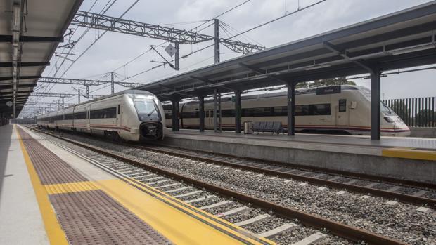 Estación de Adif en Huelva