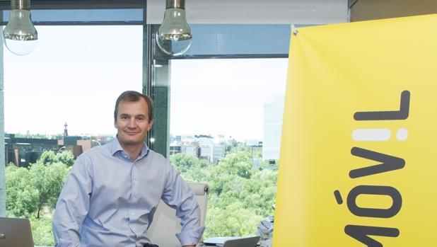 El fundador y consejero delegado de Masmovil, Meinrad Spenge
