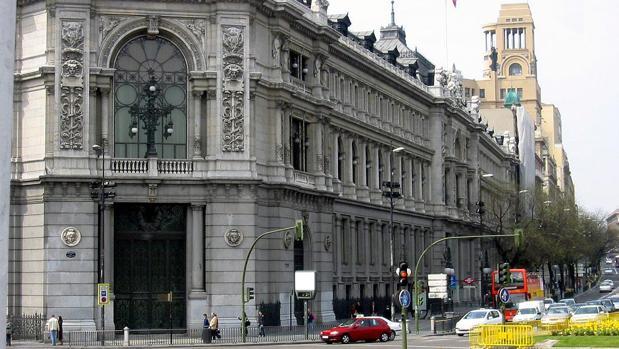 La sede del Banco de España, en Madrid