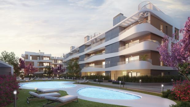 Imagen virtual del proyecto, que ha sido diseñado por el estudio de Arquitectura Orfila 11