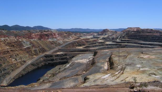 Explotación de Cerro Colorado en Riotinto