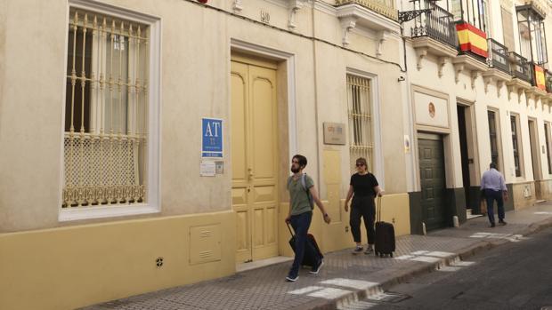 Bloque de apartamentos turísticos en Sevilla