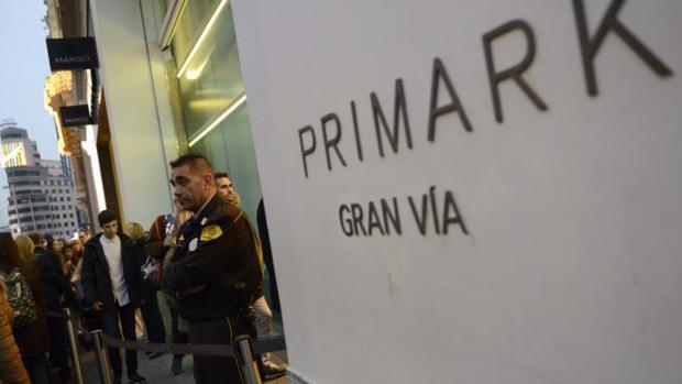 Tienda de Primark en Gran Vía