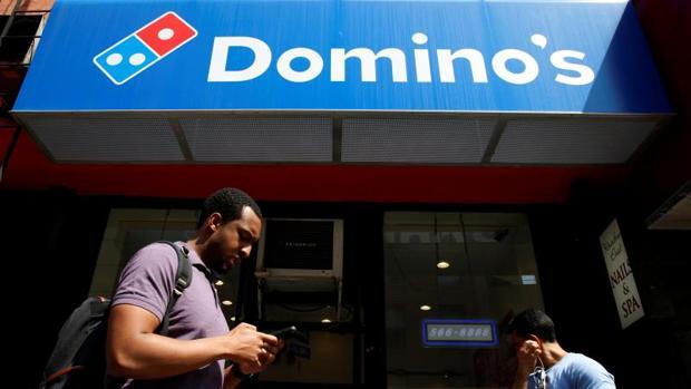 Fachada de Domino's Pizza