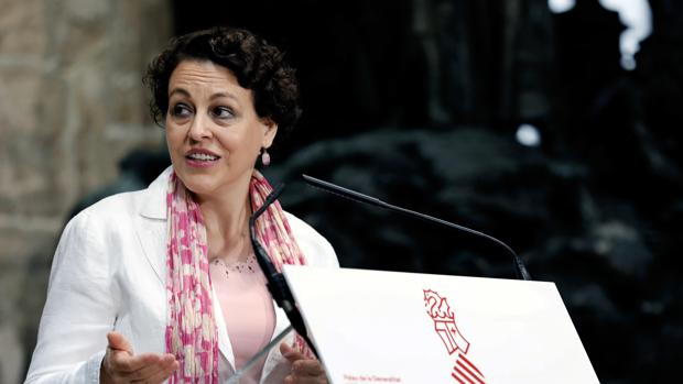 La Ministra de Trabajo,Migraciones y Seguridad Social, Magdalena Valerio