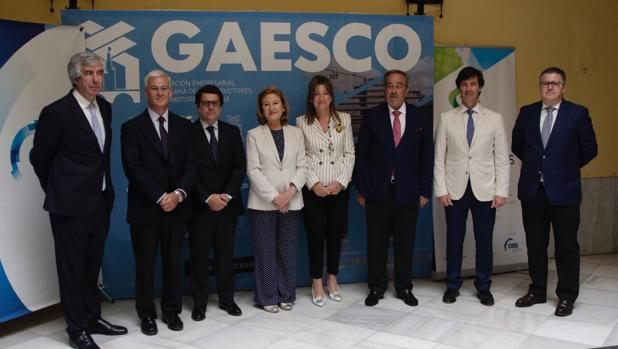 Participantes en el Foro Gaesco dedicado al relevo generacional en la empresa familiar