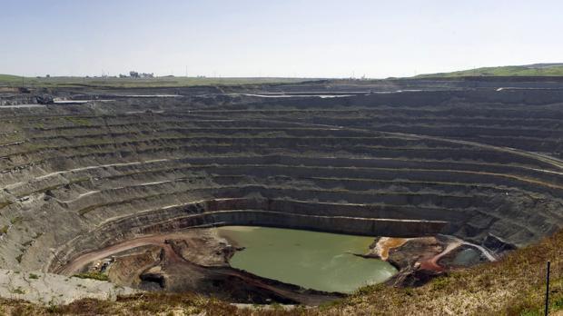 Corta minera de Cobre Las Cruces, donde se produjo el derrumbe en enero pasado